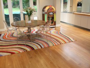 natural oak floor sanded in Summertown Oxford